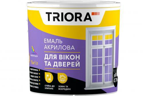 Эмаль акриловая TRIORA для окон и дверей 2,5л - PRORAB image-4