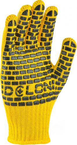 Перчатки DOLONI строительные с рисунком ПВХ 4078 - PRORAB