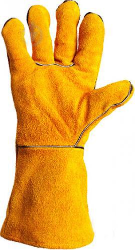 Перчатки DOLONI краги с подкладкой желтые 4507 - PRORAB image-2