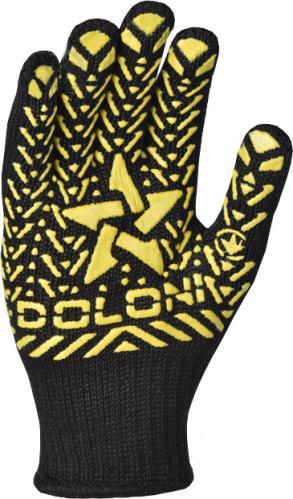 Перчатки DOLONI трикотажные со звездой черные 562 - PRORAB image-4