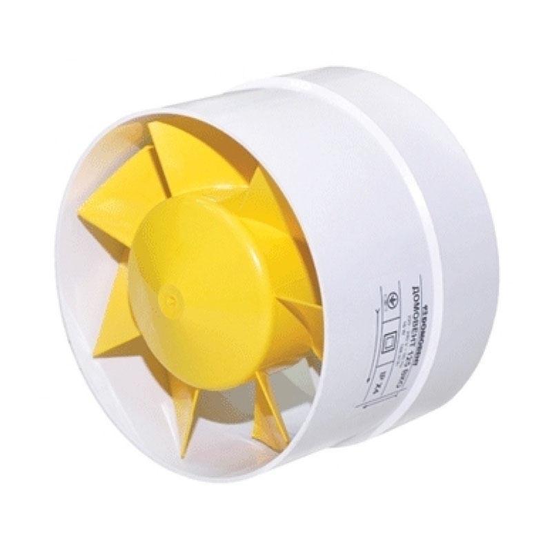 Вентилятор вытяжной DOMOVENT 125 ВКО - PRORAB