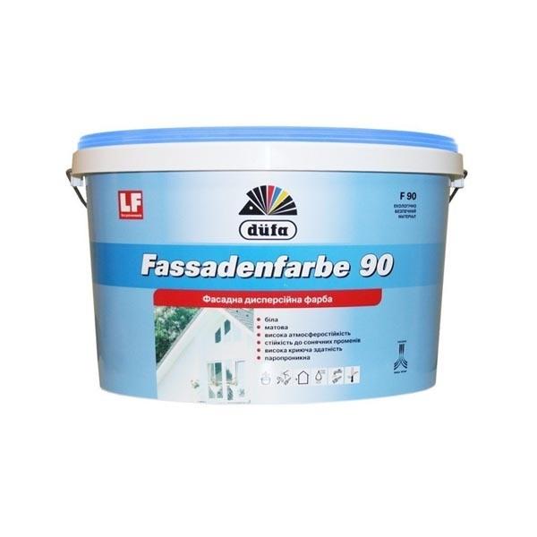 Краска фасадная DUFA Fassadenfarbe F90 10л - PRORAB