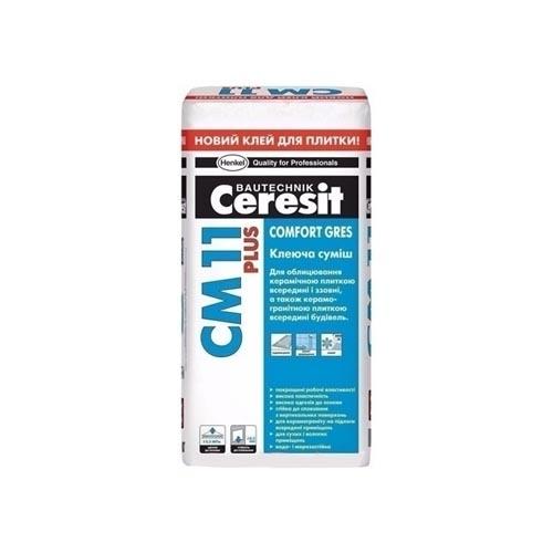 Клей для плитки CERESIT СМ-11 Plus 25кг - PRORAB image-1