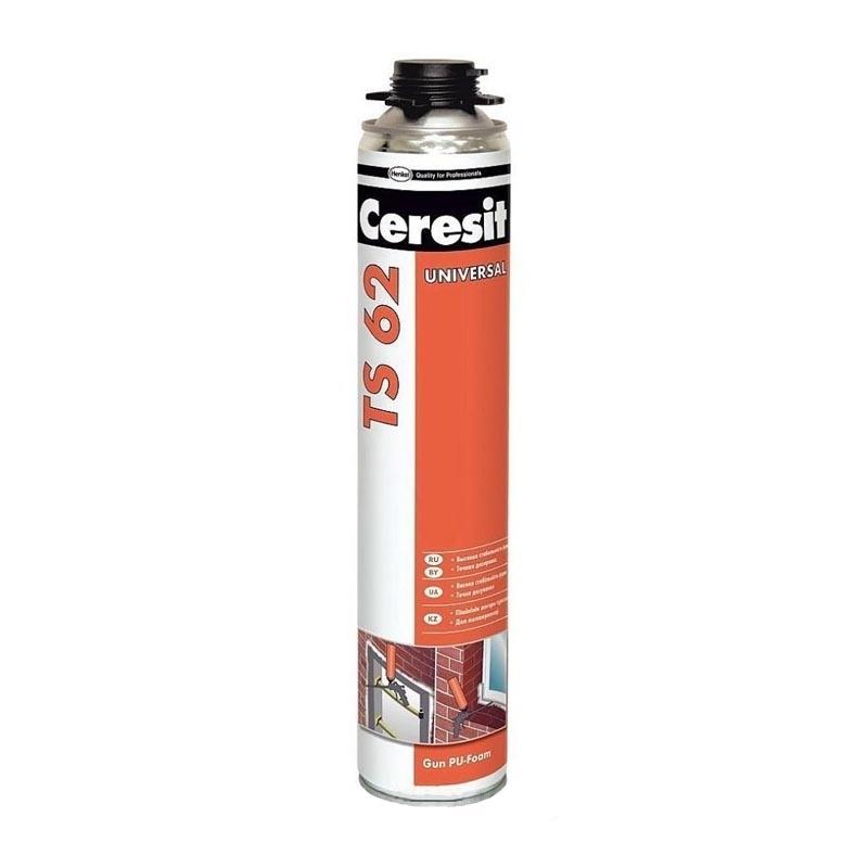 Пена монтажная CERESIT TS-62 750мл профессиональная - PRORAB
