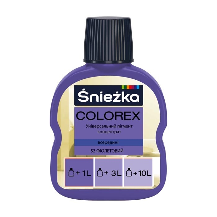 Краситель SNIEZKA Colorex 100мл 53 фиолетовый - PRORAB image-16