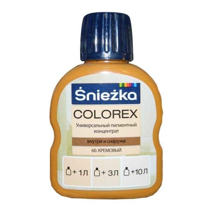 Краситель SNIEZKA Colorex 100мл 60 кремовый - PRORAB image-18