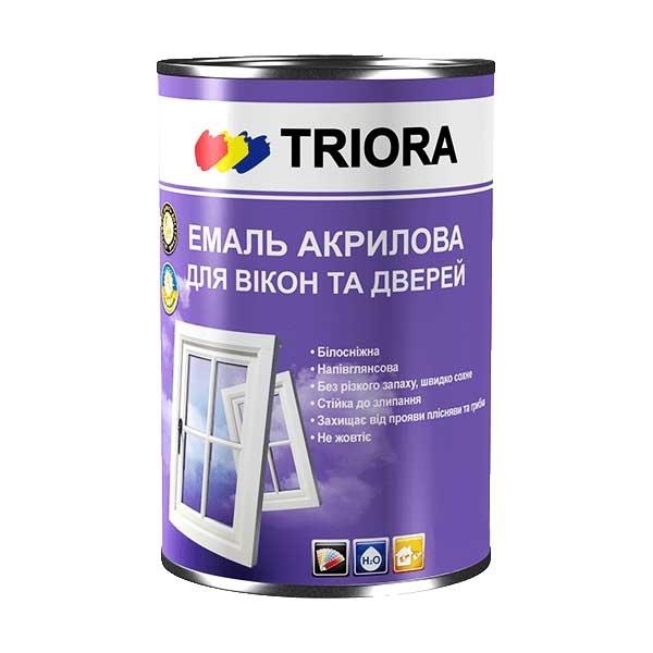 Эмаль акриловая TRIORA для окон и дверей 0,75 - PRORAB