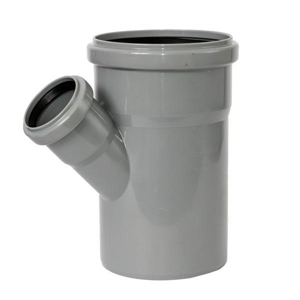 Тройник канализационный ROZMA 110 * 50 45 ° - PRORAB image-1