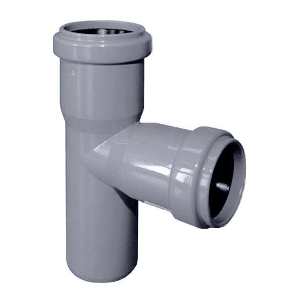 Тройник канализационный ROZMA 50 * 50 90 ° - PRORAB image-3