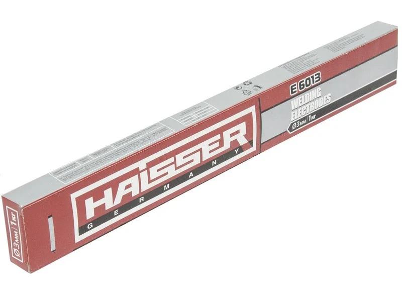 Электроды HAISSER E 6013 3мм 2,5кг - PRORAB image-1