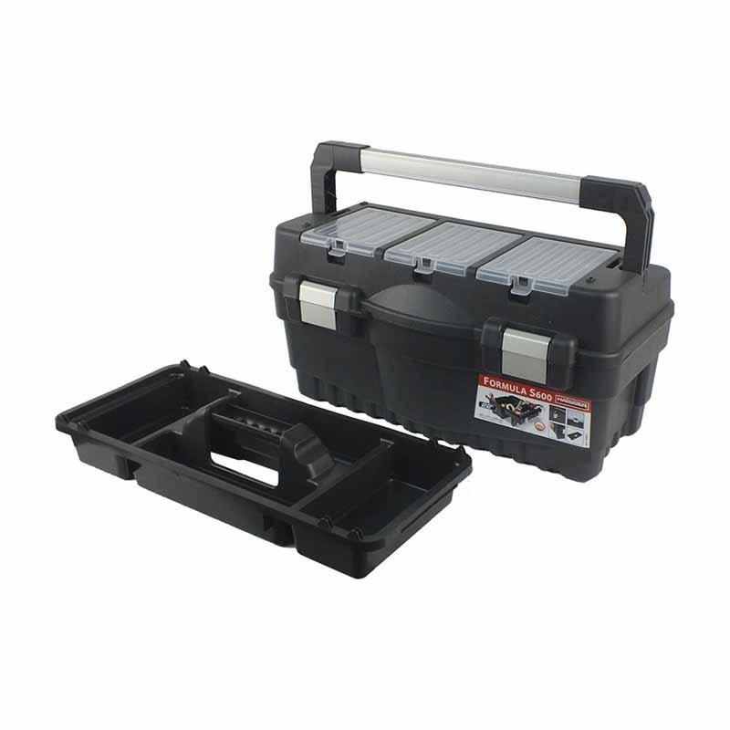 """Ящик для инструментов HAISSER 22 """"Formula S600 ALU 547 * 271 * 278мм - PRORAB"""