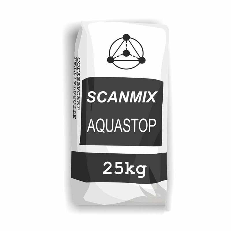 Смесь гидроизоляционная SCANMIX AQUASTOP 650 25кг - PRORAB