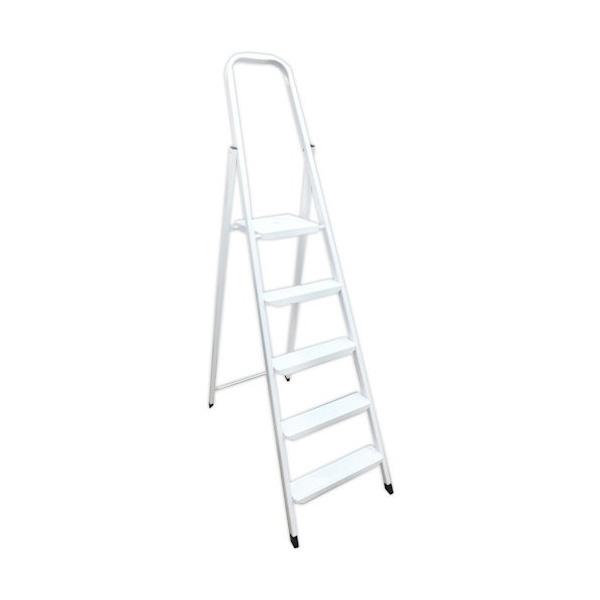Лестница алюминиевая WERK LJ305D 5 ступеней - PRORAB image-4