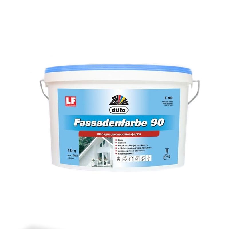 Краска фасадная DUFA Fassadenfarbe F90 1л - PRORAB
