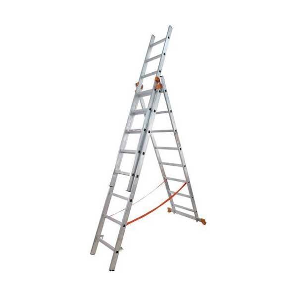 Лестница универсальная 3-секционная BUDFIX 3 * 10 ступеней - PRORAB image-3