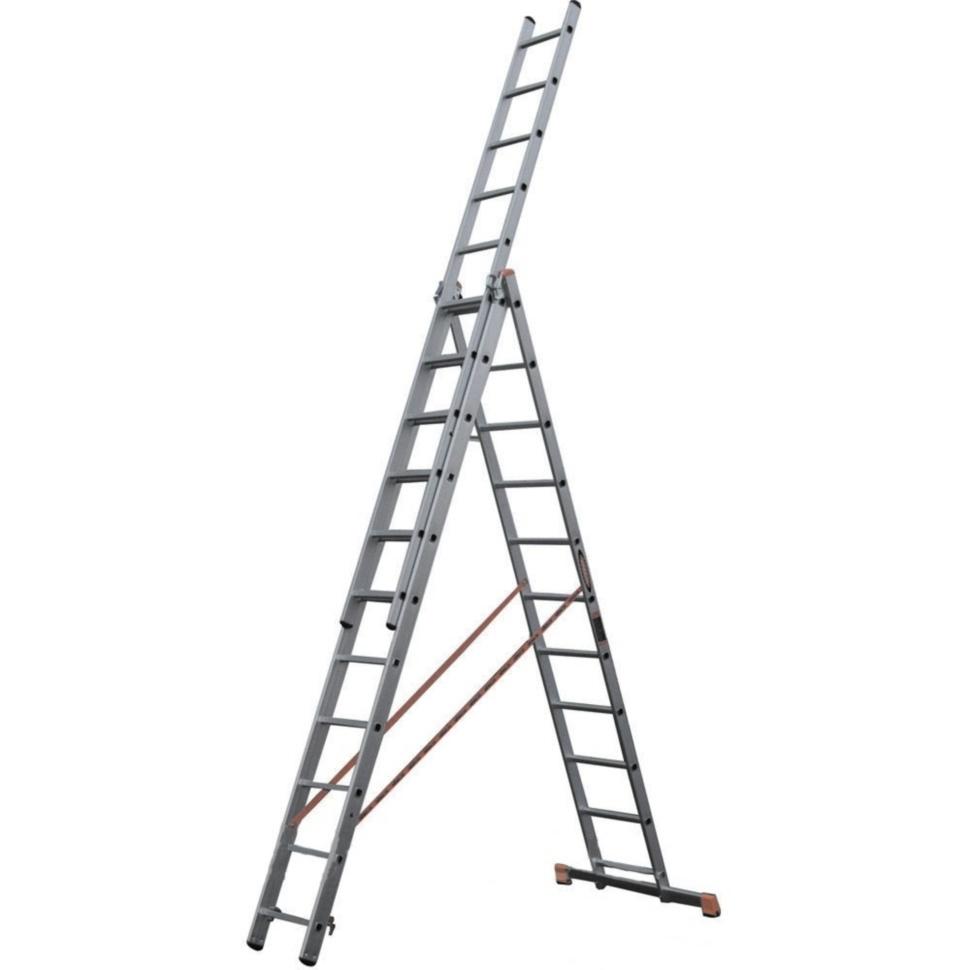 Лестница универсальная WERK 3 * 11 ступеней - PRORAB