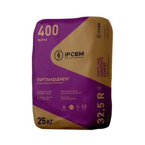 Цемент IFCEM красный мешок 25кг М400 - PRORAB