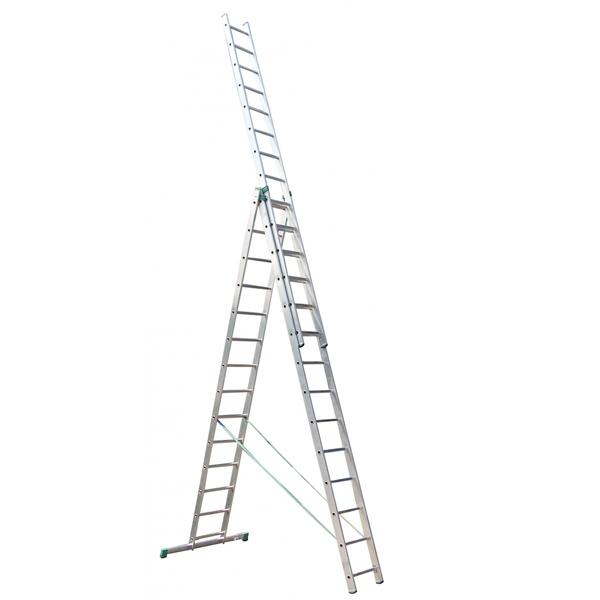 Лестница универсальная 3-секционная ITOSS 3 * 14 cходинок - PRORAB image-1