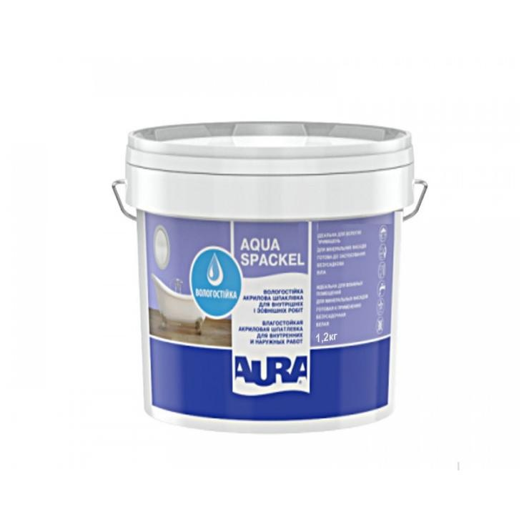 Шпатлевка акриловая AURA Luxpro Aqua Spackel 1,2кг - PRORAB