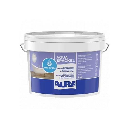 Шпатлевка акриловая AURA Luxpro Aqua Spackel 4кг - PRORAB