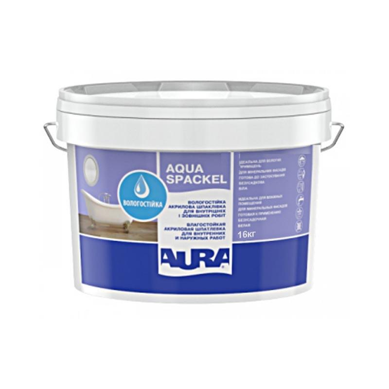 Шпатлевка акриловая AURA Luxpro Aqua Spackel 16кг - PRORAB image-1
