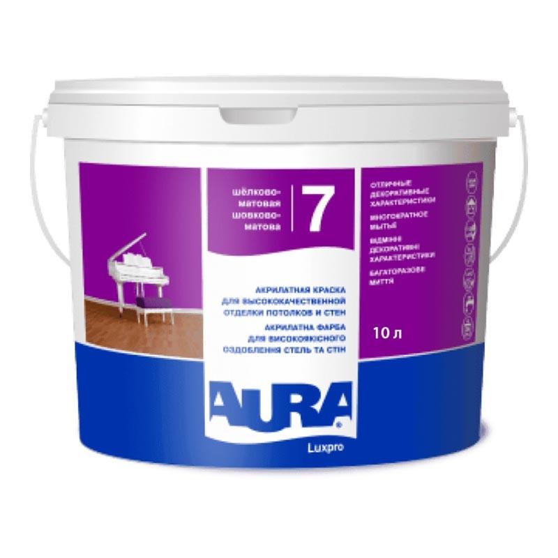 Краска AURA Luxpro 7 10л - PRORAB