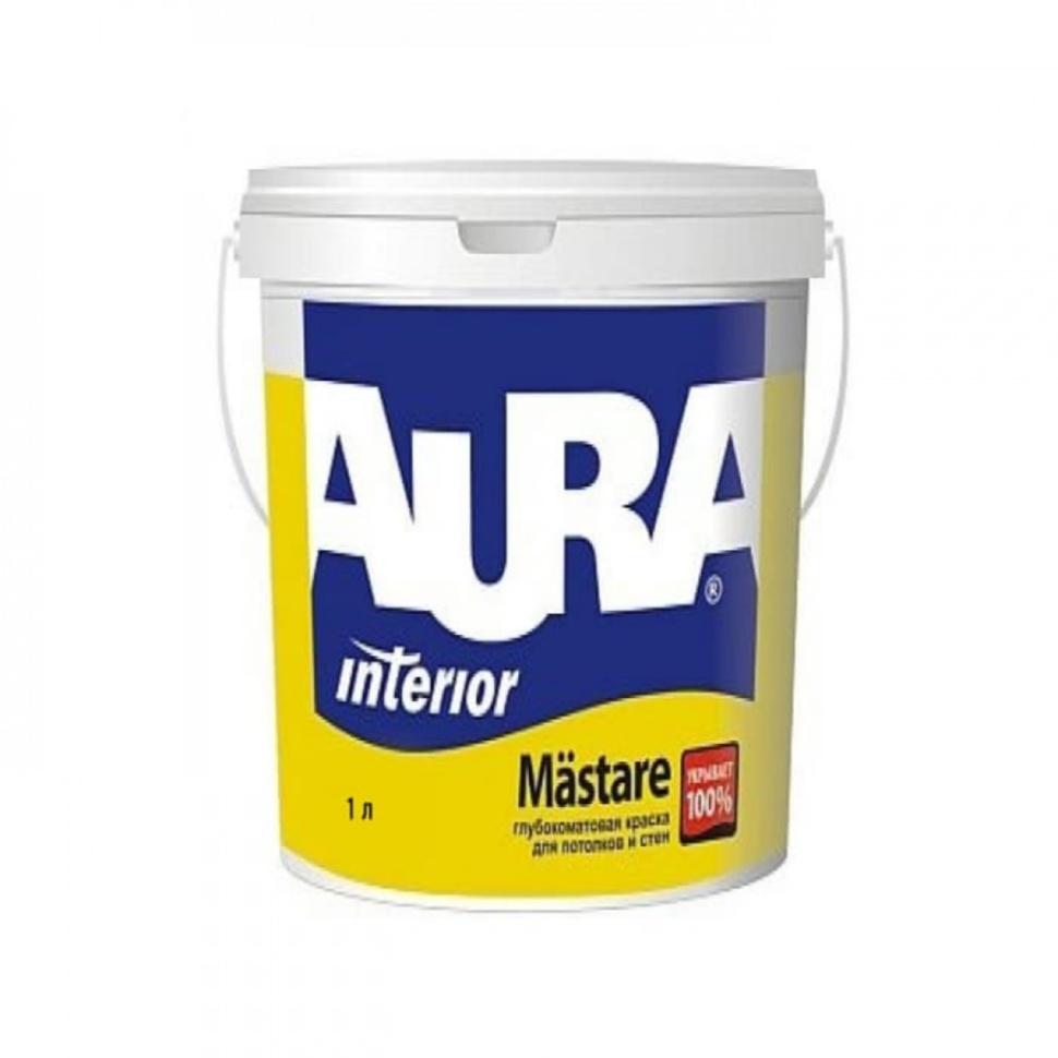 Краска AURA Mastare 1л глибокоматова - PRORAB