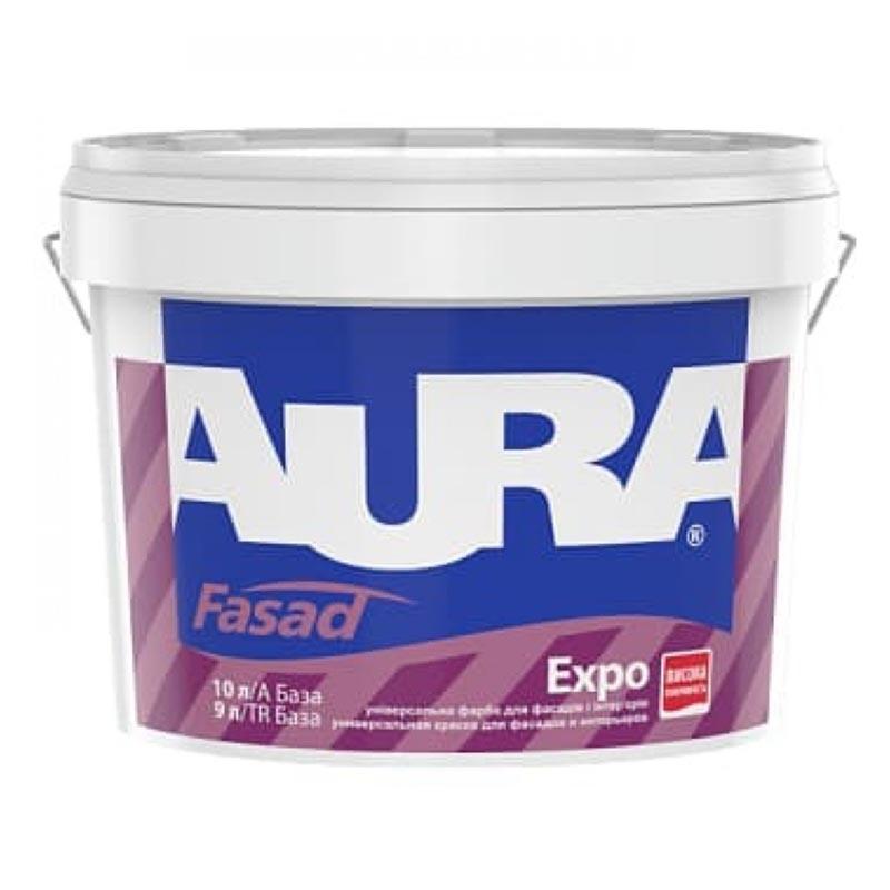 Краска фасадная AURA Fasad Expo 10л акриловая - PRORAB