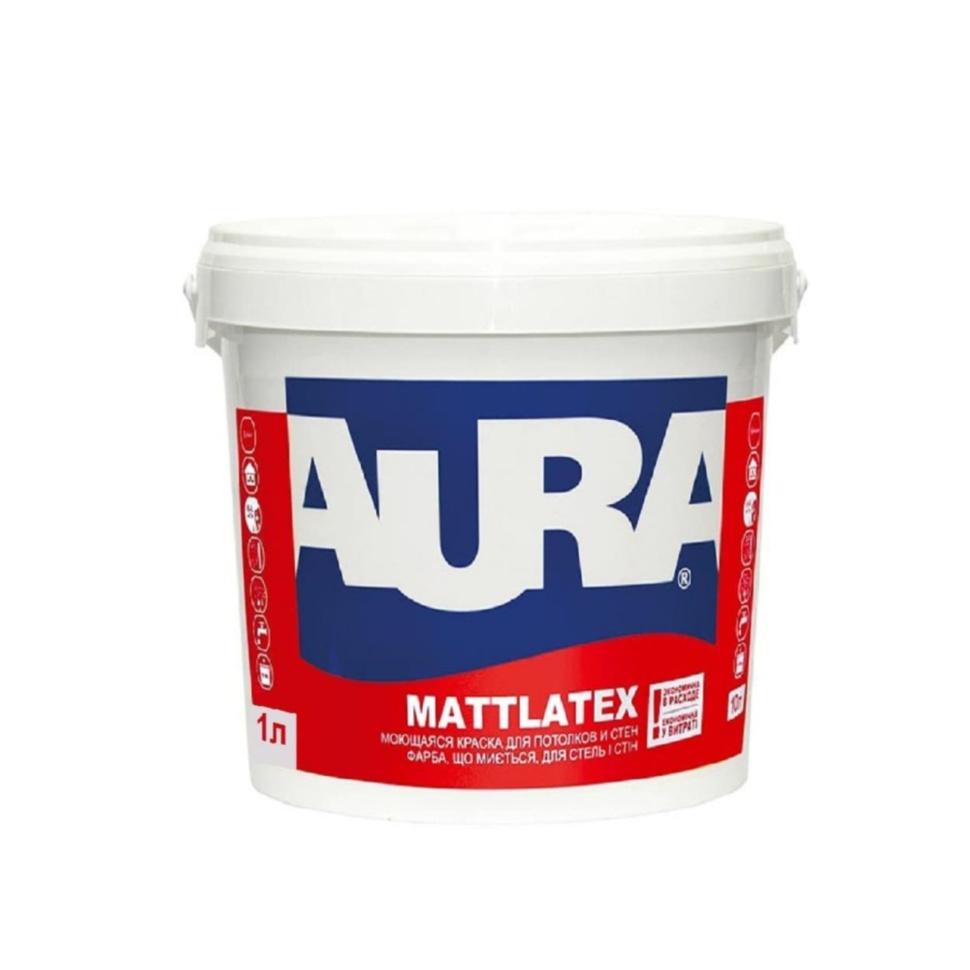 Краска AURA Mattlatex 1л - PRORAB