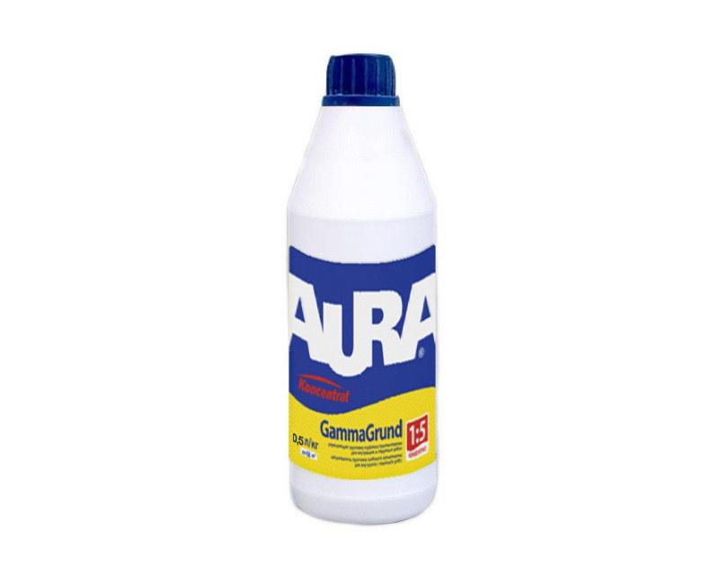 Грунтовка акриловая концентрат AURA Gamma Grund 0,5л - PRORAB