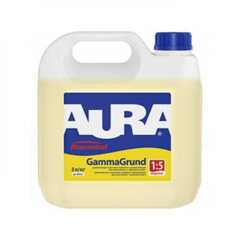 Грунтовка акриловая концентрат AURA Gamma Grund 3л - PRORAB image-4