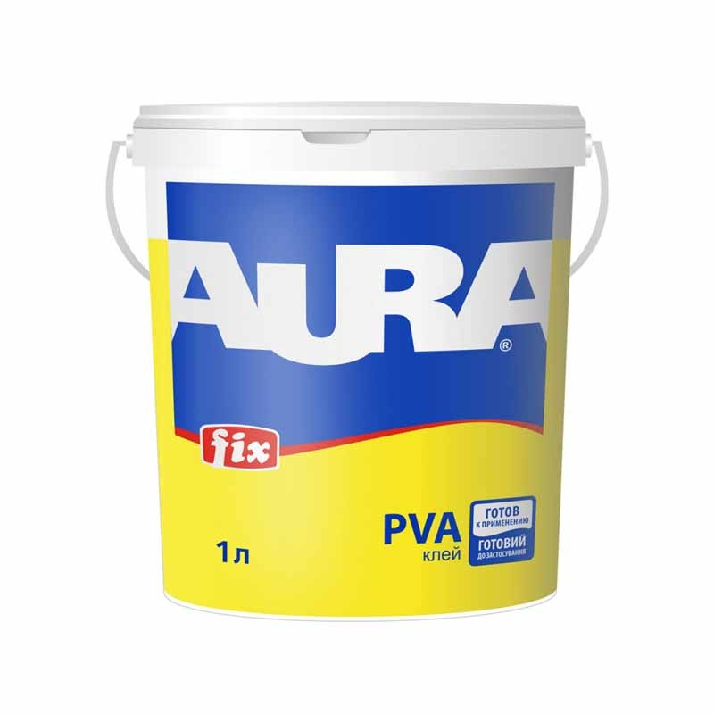 Клей ПВА AURA Fix 1л - PRORAB