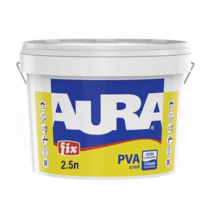 Клей ПВА AURA Fix 2,5л - PRORAB image-1