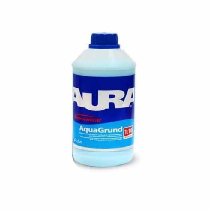 Грунтовка акриловая концентрат AURA Aqua Grund 0,5л - PRORAB image-1