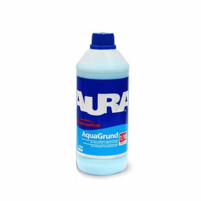 Грунтовка акриловая концентрат AURA Aqua Grund 1л - PRORAB image-2
