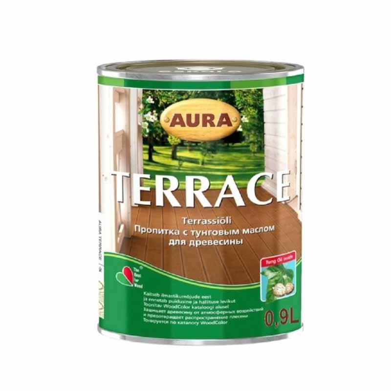 Масло для дерева AURA Terrace 0,9 л бесцветная - PRORAB image-2