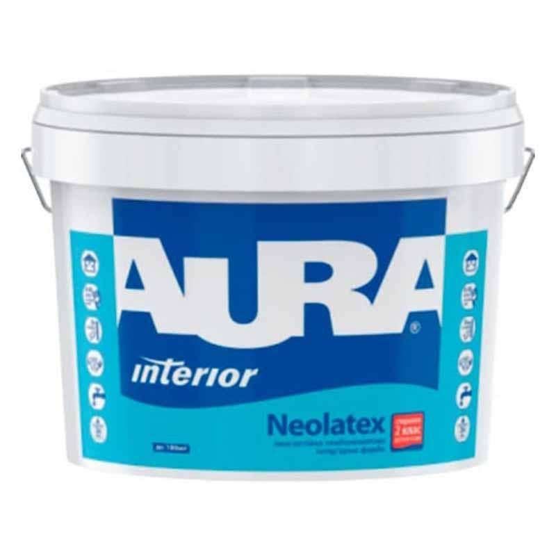 Краска AURA Neolatex TR 9л интерьерная - PRORAB image-4