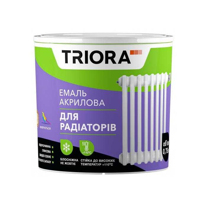 Эмаль акриловая TRIORA для радиаторов 0,75 - PRORAB