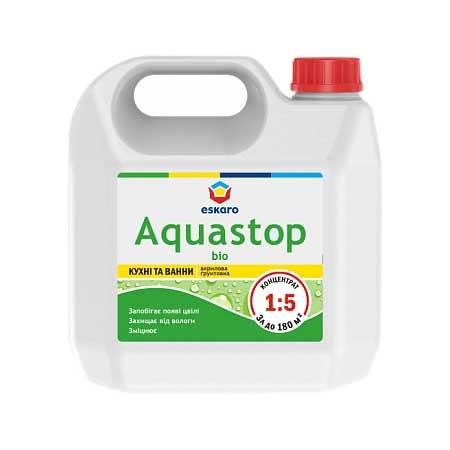 Грунтовка от плесени ESKARO Aquastop Bio 3л концентрат - PRORAB image-2