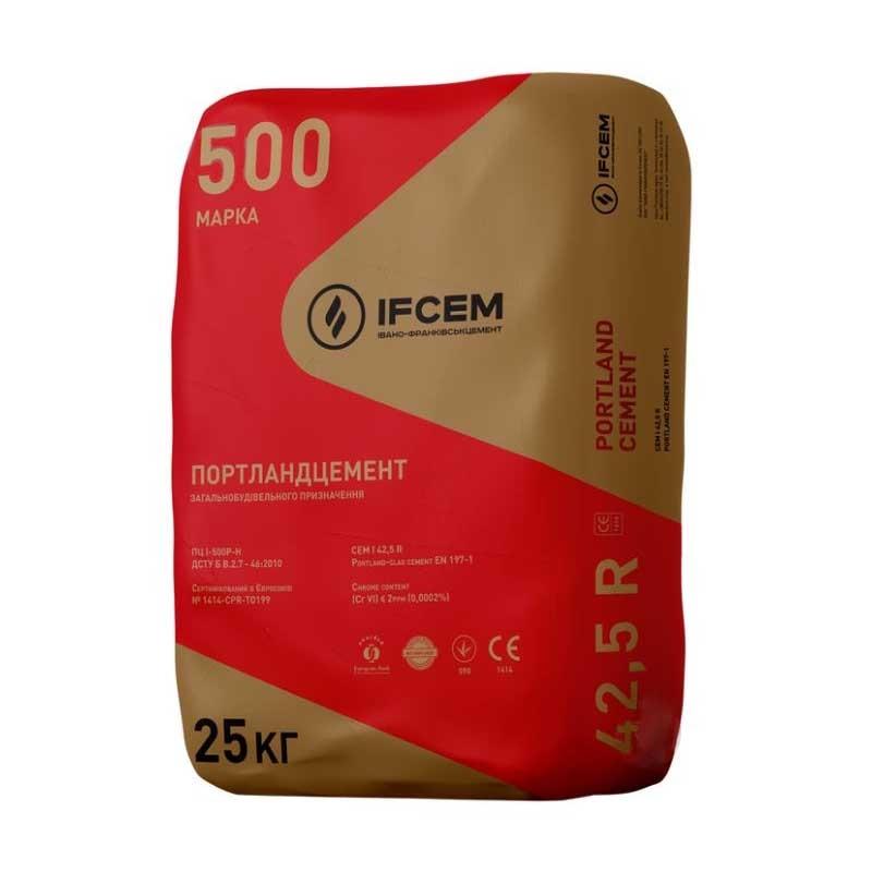 Цемент IFCEM красный мешок 25кг М500 - PRORAB