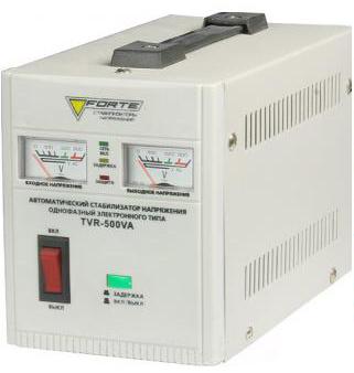Стабилизатор напряжения FORTE TVR-500VA - PRORAB image-1