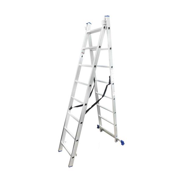Лестница универсальная WERK 2 * 8 ступеней - PRORAB image-4