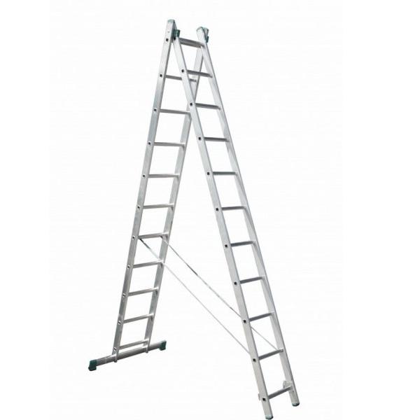 Лестница универсальная 2-секционная ITOSS 2 * 11 ступеней - PRORAB image-4