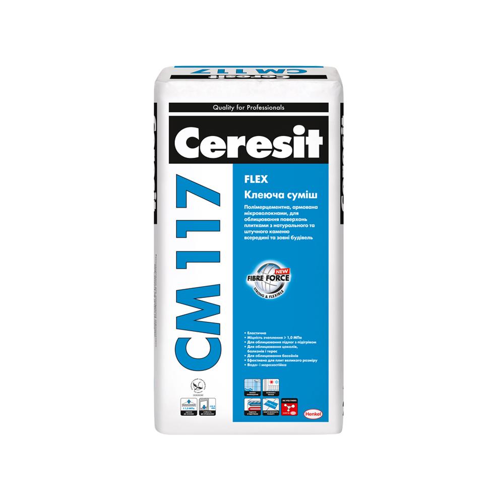 Клей для плитки CERESIT СМ-117 5кг - PRORAB image-3