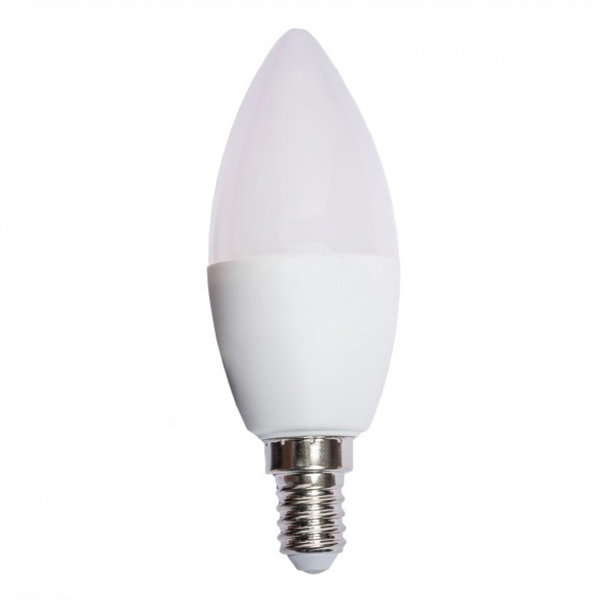 Лампа LED LUXEL Е14 4Вт B-35 свеча 4000К 044-NE - PRORAB