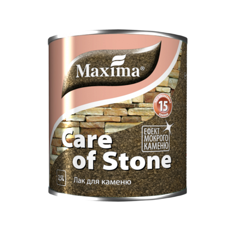 Лак для камня MAXIMA 0,75 глянцевый - PRORAB