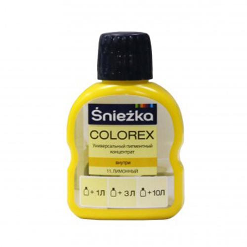 Краситель SNIEZKA Colorex 100мл 11 лимонный - PRORAB image-1
