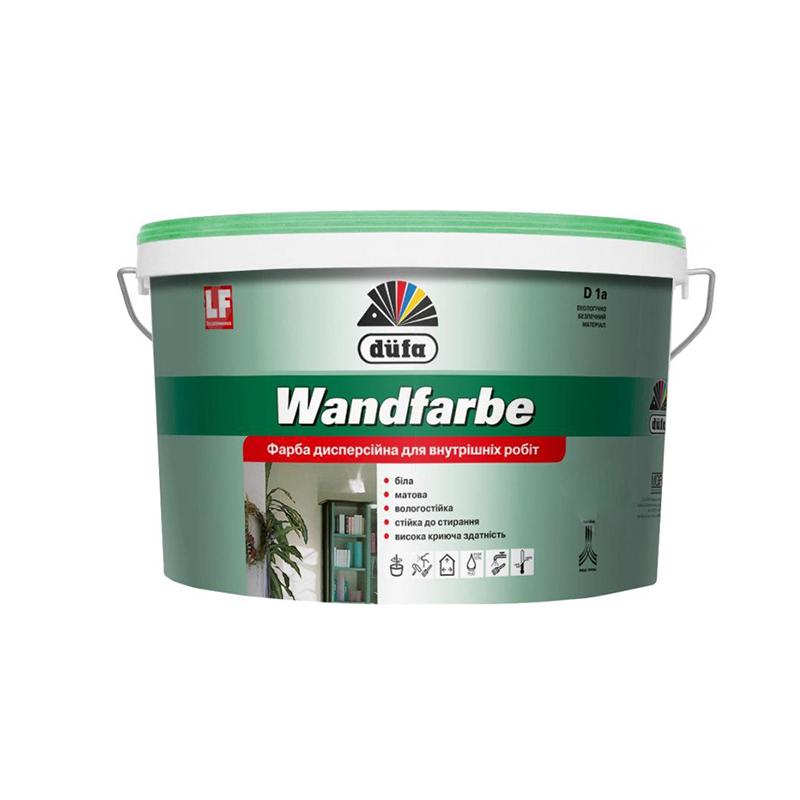 Краска DUFA Wandfarbe D1а 1л - PRORAB image-1