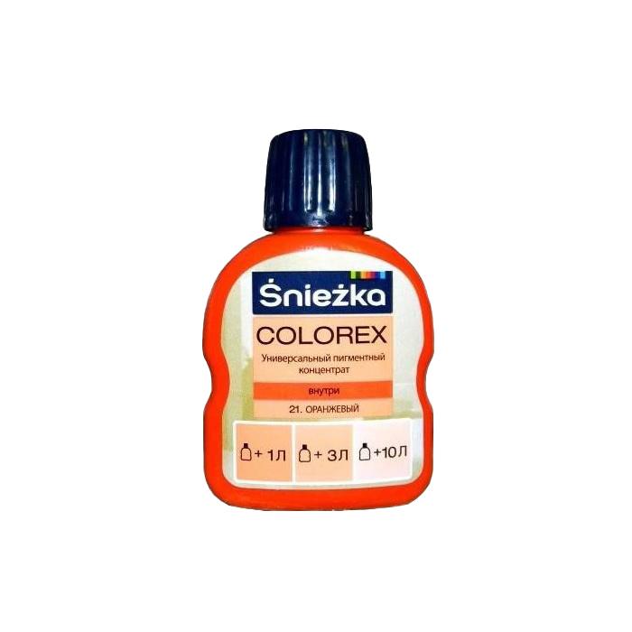 Краситель SNIEZKA Colorex 100мл 21 оранжевый - PRORAB image-4