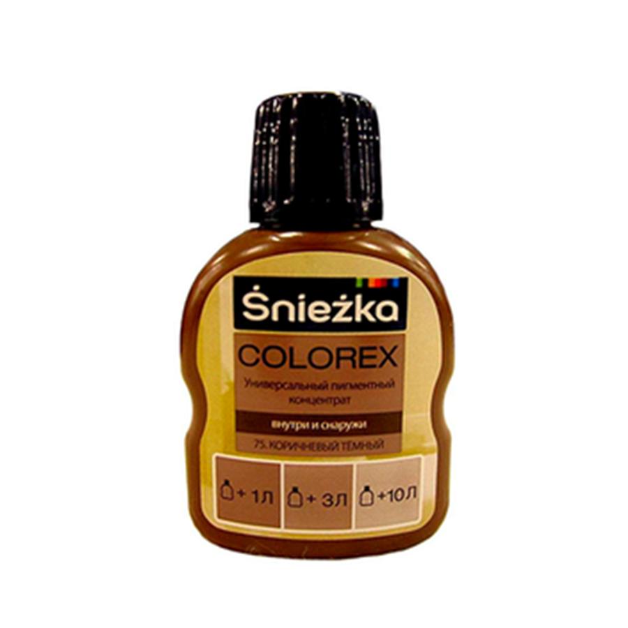 Краситель SNIEZKA Colorex 100мл 75 темно-коричневый - PRORAB
